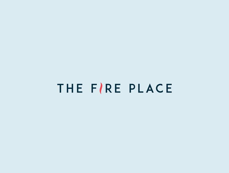 The Fire Place Branding logo christian ministry branding design brand identity branding