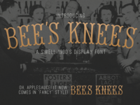 Bee's Knees Free Font