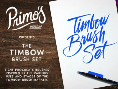 Timbow Brush Set for Procreate