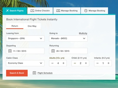 Flight booking filter searchfilter filter form webdesign ixd interactiondesign ux ui