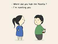 Hiding Nutella