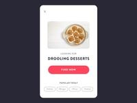 Drooling Desserts UI