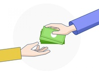 Payment Taking Hands