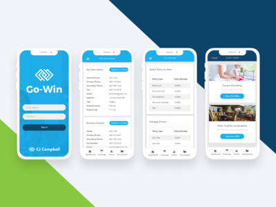 Go-Win Mobile App