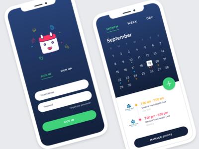 08/15: Shift Management Mobile App