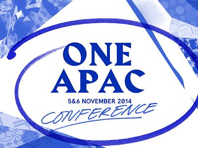 Facebook - One Apac 2014