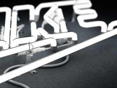 3D Nike Neon Logo 3d 3d neon 3dneon nike