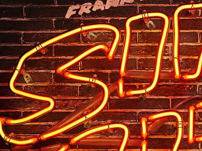 Sin City 3D neon 3dneon 3d neon sin city vary c4d