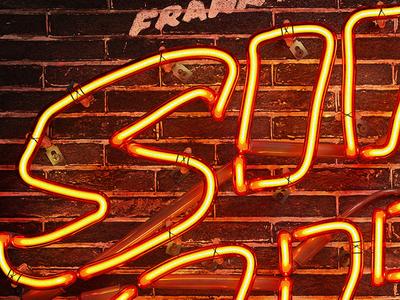 Sin City 3D neon
