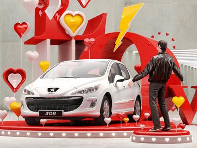Peugeot'ptimist Valentine