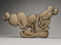 Rizon parein graffiti pat%c3%a9 typography bubble 002 2011px