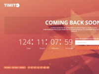 Timite - Coming Soon Bootstrap Template