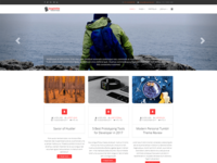Inspinite - Free Joomla Blog Template