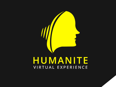 Humanite Human Mind Logo Template