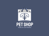 Creative Pet Shop Logo Template