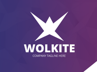 Wolkite W Letter Logo Template