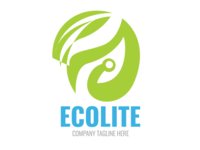 Eco Life Vector Logo Template