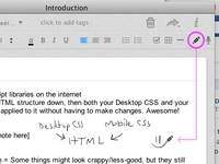 Doodle In Evernote