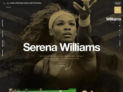 Serena Williams - Slow Motion