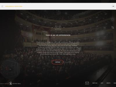 VR Splash - Teatro Real