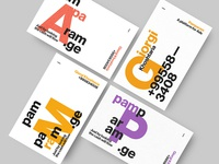 Pamparam — Business Cards