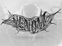Venom Lettering