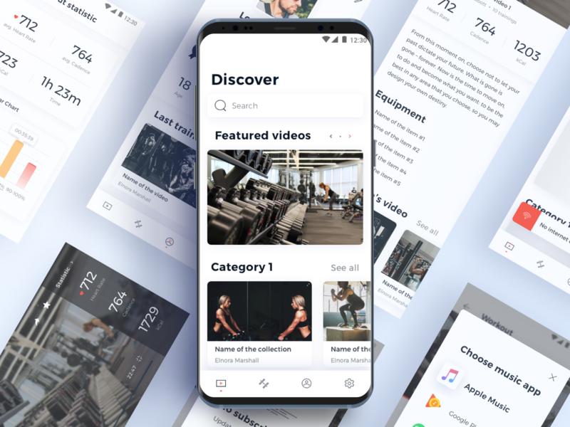 PlatonFit - Workout app