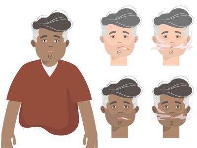 Smoking Character Concept