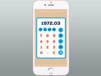 #dailyui #004 Calculator