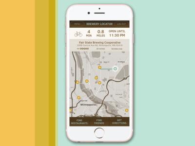 DailyUI #020 - Location Tracking