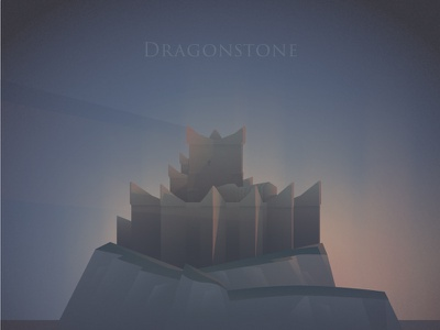 Dragonstone - GoT game of thrones dawn castle
