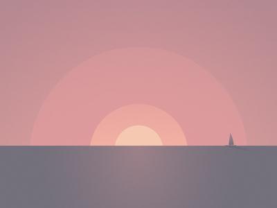Shapes // Sunset