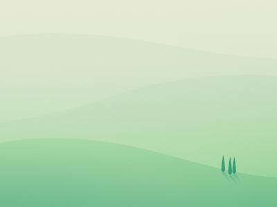 Shapes // Hills