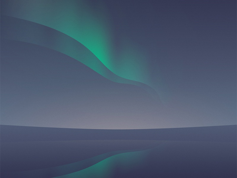 Northern Lights northern lights polar reflex relaxing minimal landscape sea gradients
