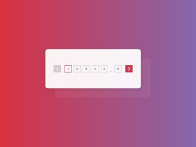 Daily UI #085 : Pagination ui patterns branding style gradient bright interface design dailyui design pagination ui daily ui