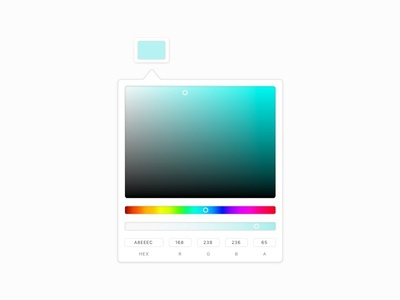 Daily UI #060 : Color picker