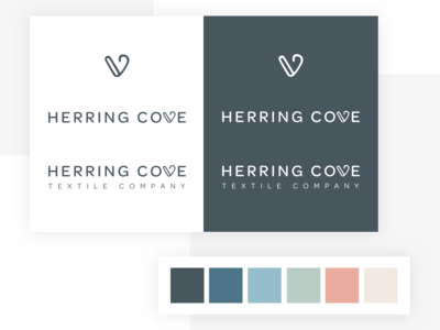 Herring Cove Logo & Color Palette