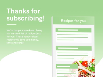 Daily UI #077 : Thank you minimal app simple light ui daily ui