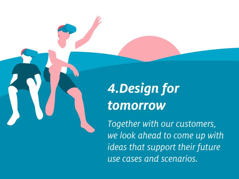 Usabilla Design Principles ux  ui user feedback usabilla illustration design principles customer experience
