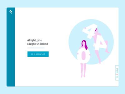 Usabilla 404-page