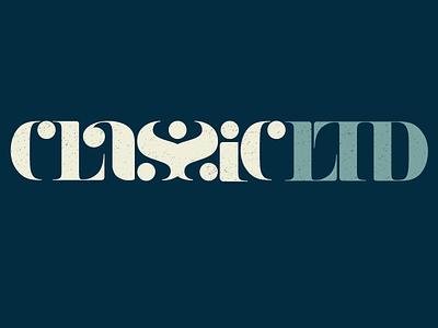 Classic LTD Lettering font-customization branding typography