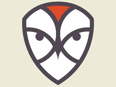OWL/SHIELD branding illustration logo