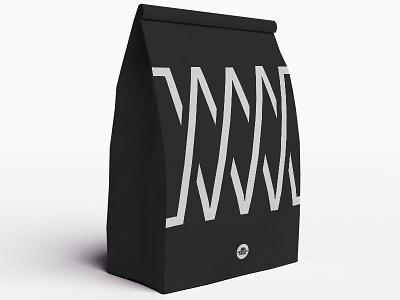 MW Coffee Mock Up monogram coffee packaging art direction logo branding