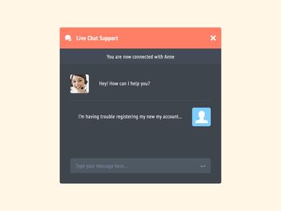 Live Chat Support Rebound