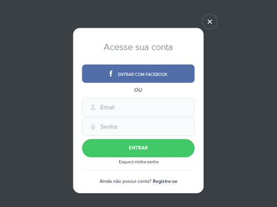 Lovelō Login  login ui ux form white green sign up sign in facebook user icons