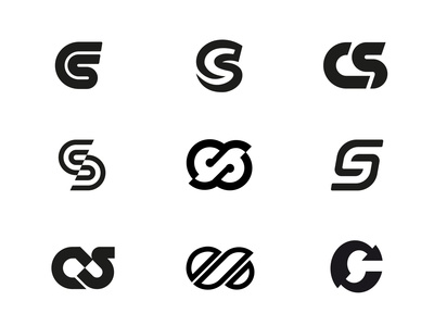 Cycler Superstore initial monogram concepts