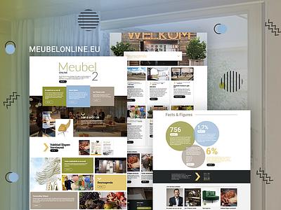 MeubelOnline grid desktop responsive digital magazine diziner interface twindigital meubelonline photoshop design ux ui