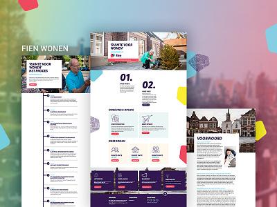 Fien Magazine grid desktop responsive digital magazine diziner interface twindigital online photoshop design ux ui