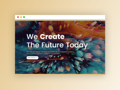 Brand New - Coming Soon! portfolio gold site interface less is more abstract responsive web ux ui webdesign gradient