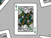 Voldemort Playing Card